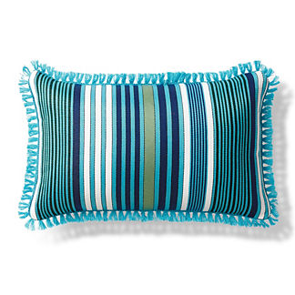 Margaritaville Frisco Stripe Aruba Pillow