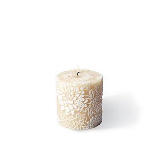 Peonies Pillar Candle