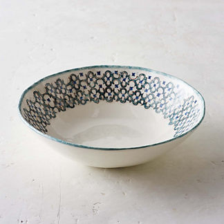 Tile Serving Bowl