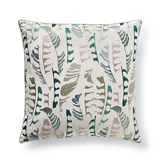 Plume Stitch Decorative Pillow