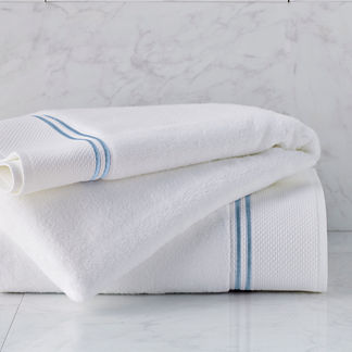 Coastal Icon Resort Embroidered Bath Sheet