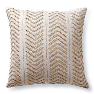 Caron Beaded Decorative Pillow