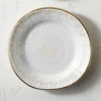Donatella Mother of Pearl Salad Plates, Set of Four