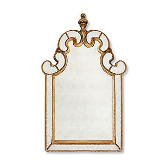 Gisella Gold Mirror