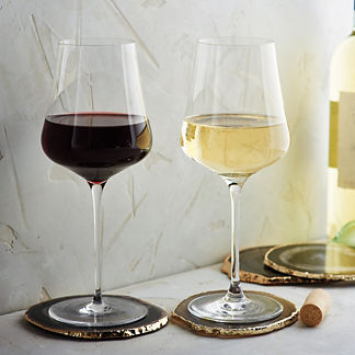 All in One Gabriel-Glas Wine Glasses Gold Edition, Set of Two