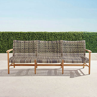 Isola Sofa in Natural Finish