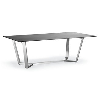 Metropolitan Dining Table in Panther Finish