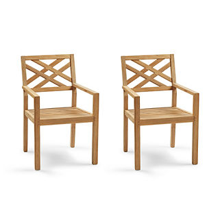 Harbor Set of Two Dining Arm Chairs