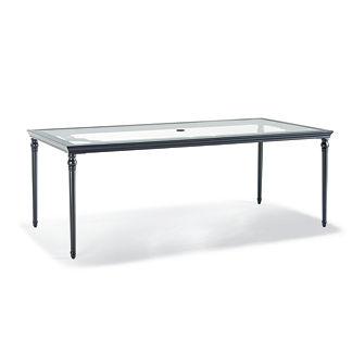 Grayson Rectangular Dining Table in Black Finish