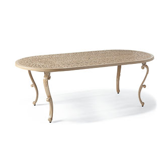 Orleans Oval Dining Table in Biscayne Finish