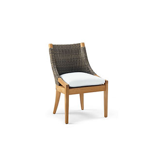 Roseau Dining Side Chair with Cushion, Special Order