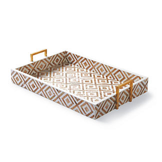 Coco Penshell Rectangular Copper Tray