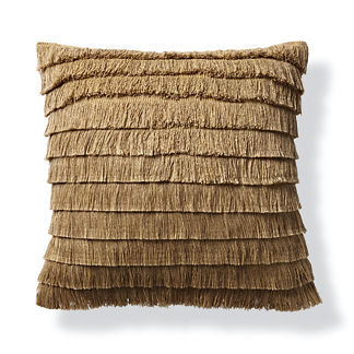Tiki Fringe Outdoor Pillow