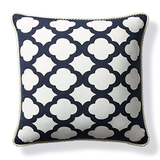 Lasercut Tile Outdoor Pillow