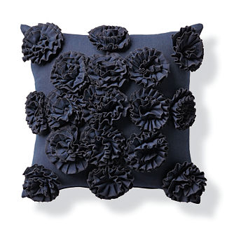Blossom Indigo Outdoor Pillow
