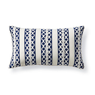 Regatta Stripe Outdoor Lumbar Pillow