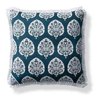 Denby Velvet Indigo Outdoor Pillow