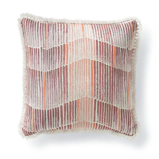 Watercolor Echo Petal Outdoor Pillow