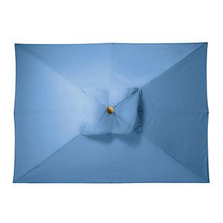 8' x 11' Rectangular Outdoor Market Umbrella