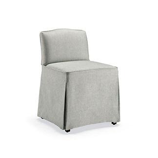 Charlotte Slipcovered Vanity Chair