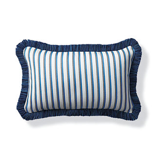 Elante Stripe Capri Outdoor Lumbar Pillow