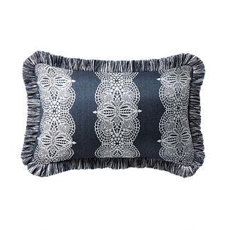 Hazelmere Midnight Outdoor Lumbar Pillow
