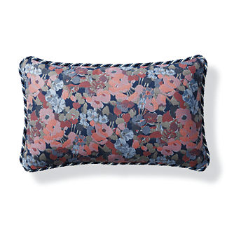 Primrose Field Petal Outdoor Lumbar Pillow