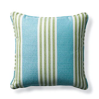 Berwyn Stripe Aruba Outdoor Pillow