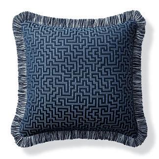 Ionian Key Air Blue Outdoor Pillow