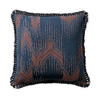 Stitched Ombre Twilight Outdoor Pillow