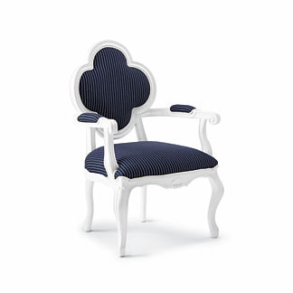 Quatrefoil Lounge Chair