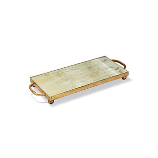 New Orleans Gold Leaf Vanity Tray