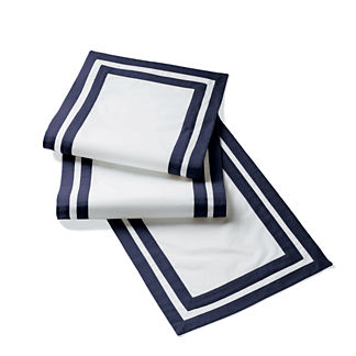 Hamptons Stripe Table Runner