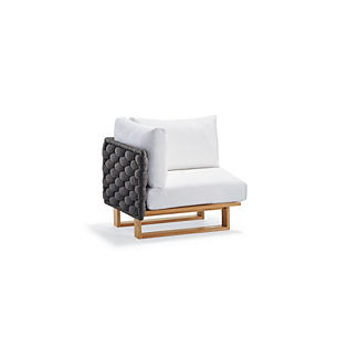 Mecca Corner Chair with Cushions by Porta Forma