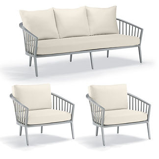 Altair 3-pc. Sofa Set by Porta Forma