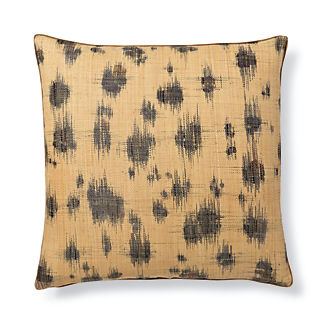 Madagascar Spot Ikat Decorative Pillow