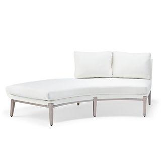 Taro Right-Facing Chaise with Cushions by Porta Forma, Special Order
