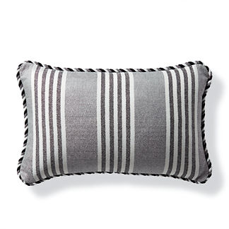 Berwyn Stripe Outdoor Lumbar Pillow