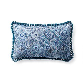 Mosaic Vibe Capri Outdoor Lumbar Pillow
