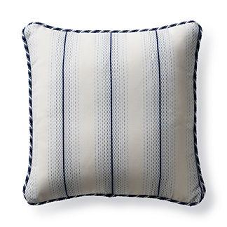 Downtown Dash Cobalt Outdoor Pillow