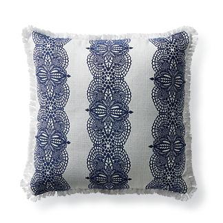 Hazlemere Indigo Outdoor Pillow