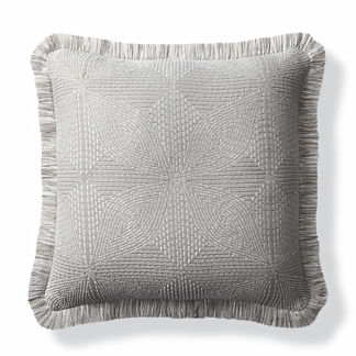Kapa Quilt Dove Outdoor Pillow