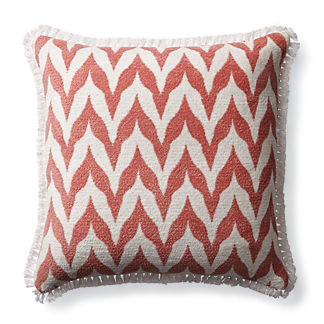 Plush Bargello Petal Outdoor Pillow