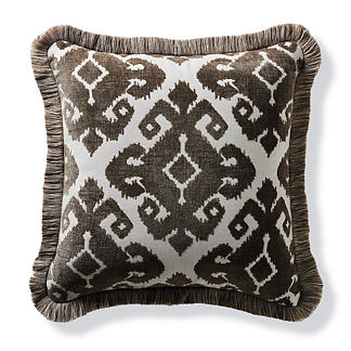 Tula Medallion Earth Outdoor Pillow