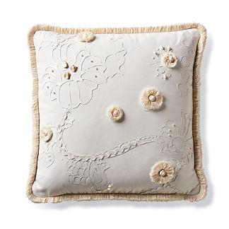 Beachcomber Ivory Outdoor Pillow