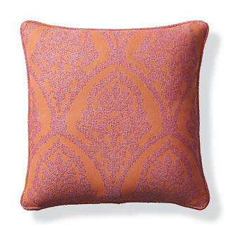 Timeless Ikat Sunset Outdoor Pillow