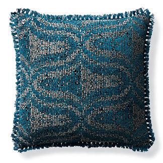 Alanya Peacock Outdoor Pillow