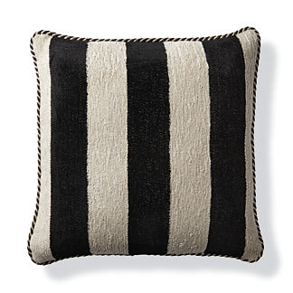 Caicos Stripe Bisque Outdoor Pillow