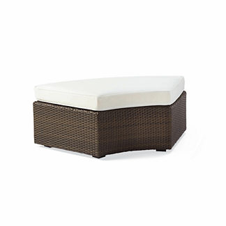 Pasadena Curved Ottoman Cushion, Special Order