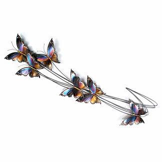 Butterfly Elegance Flight Path II Wall Art